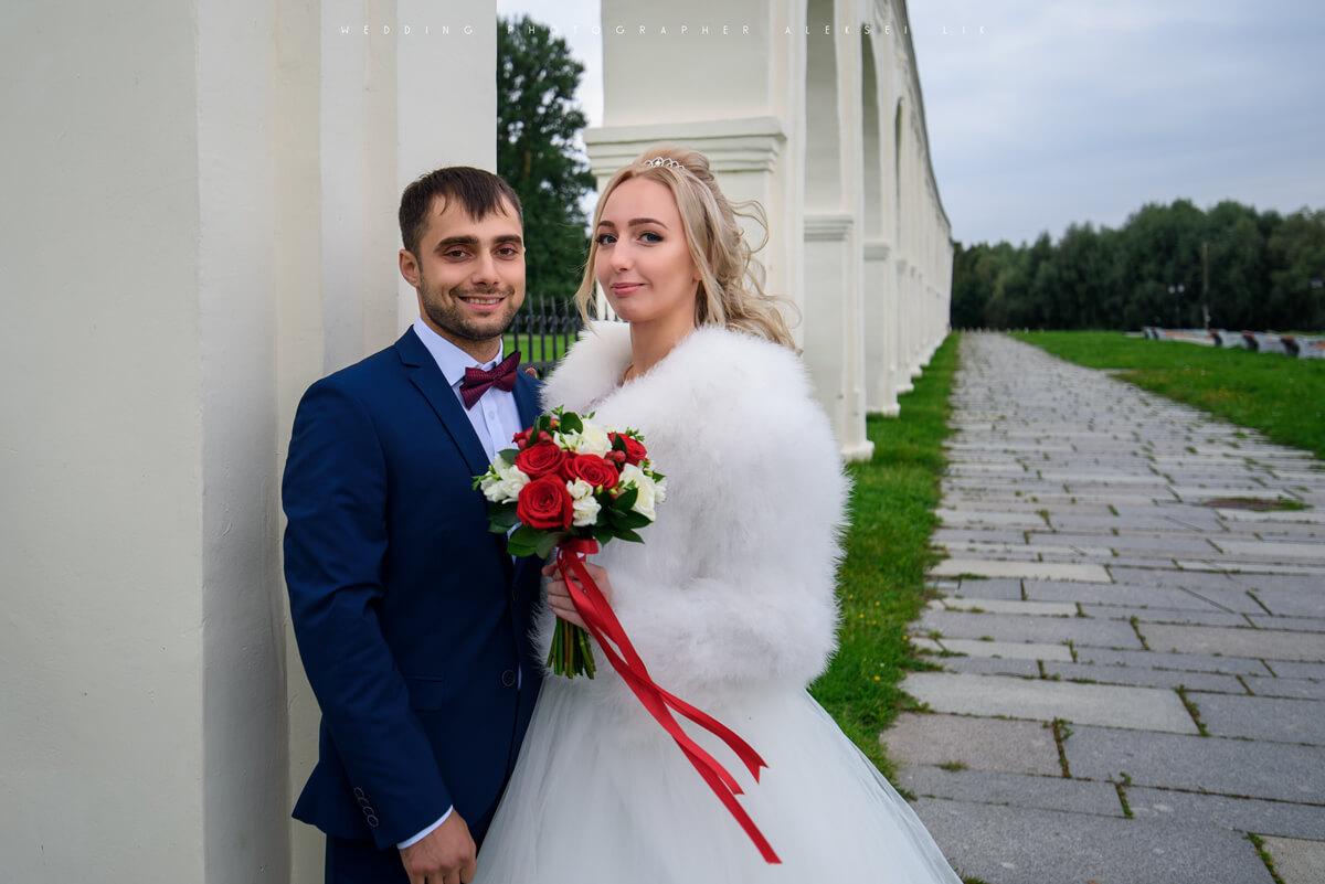 съёмка свадеб Великий Новгород